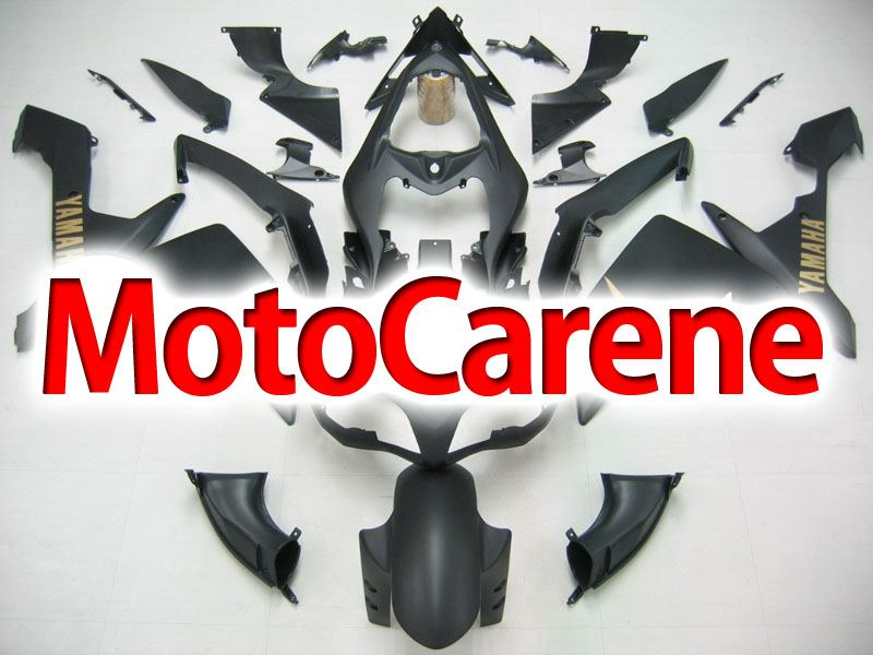 YAMAHA YZ-F R1 Carena ABS Year 2007-2008 Kit Fairing Delta box V Art 05 Nero Opaco Gold