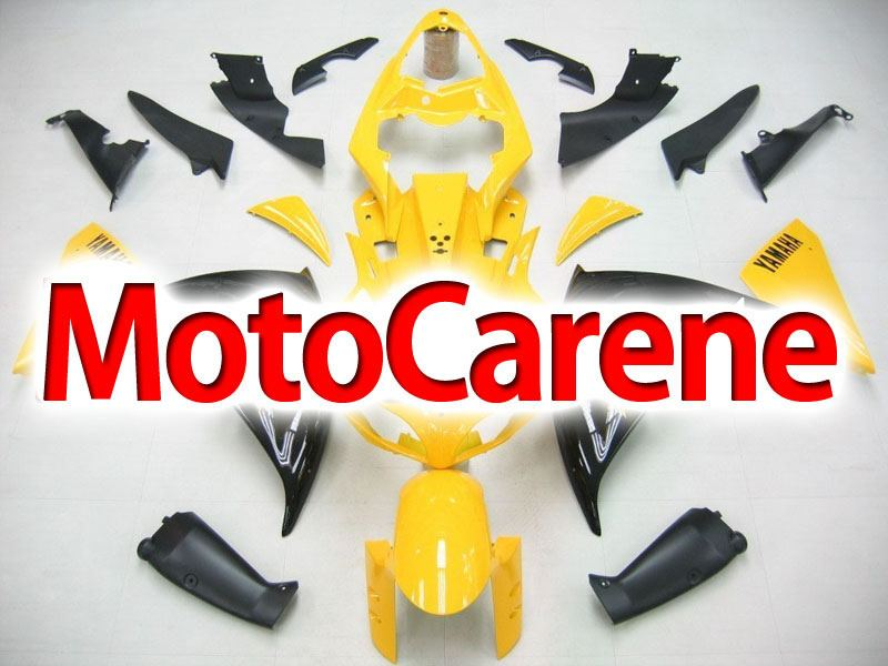 YAMAHA YZ-F R1 Carena ABS Year 2009-2011 Kit Fairing Delta box V Art 07 Giallo Nero