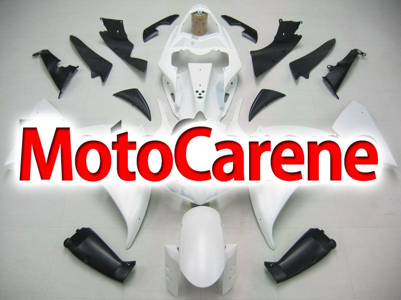 YAMAHA YZ-F R1 Carena ABS Year 2009-2011 Kit Fairing Delta box V Art 14 Madre Perla Bianco