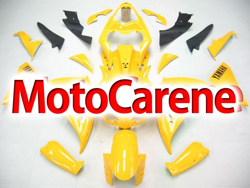 YAMAHA YZ-F R1 Carena ABS Year 2009-2011 Kit Fairing Delta box V Art 16 Giallo Totale