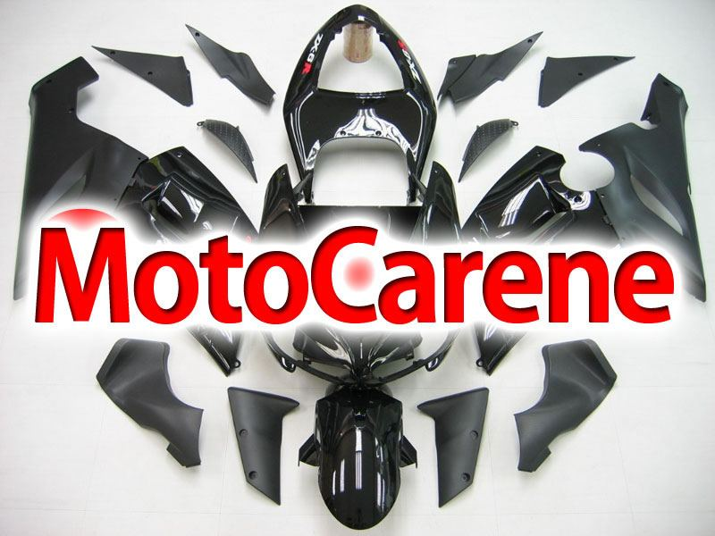 KAWASAKI ZX 6R Carena ABS Year 2005-2006 Kit Fairing Art 03 Nero Totale