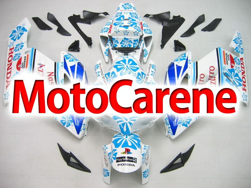 HONDA CBR 1000 RR Year 2004 2005 Carena ABS Kit Bodywork Fairing Art 16 Nastro Azzurro Limited Edition