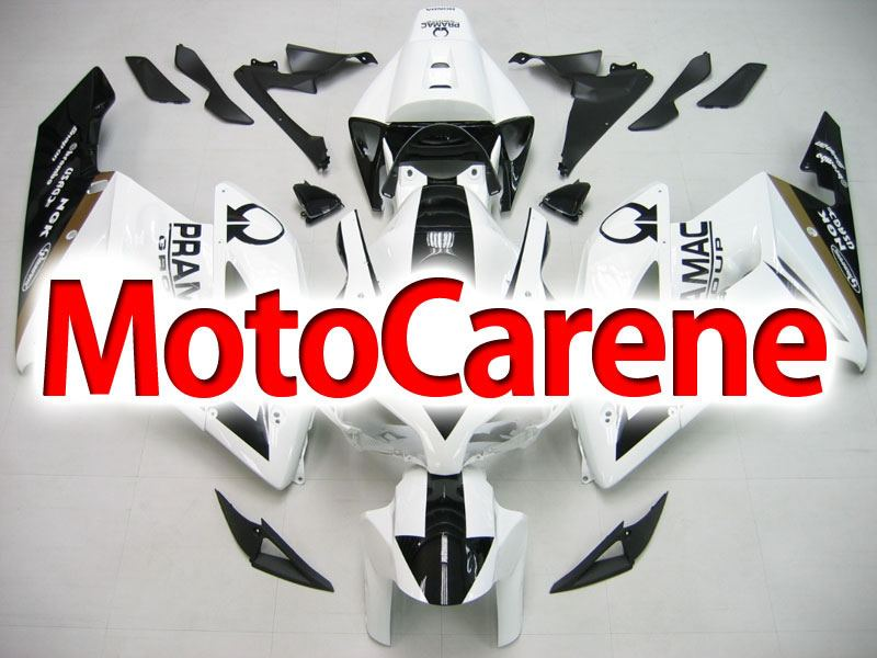 HONDA CBR 1000 RR Year 04 05 Carena ABS Kit Bodywork Fairing Art 25 Pramac Bianca