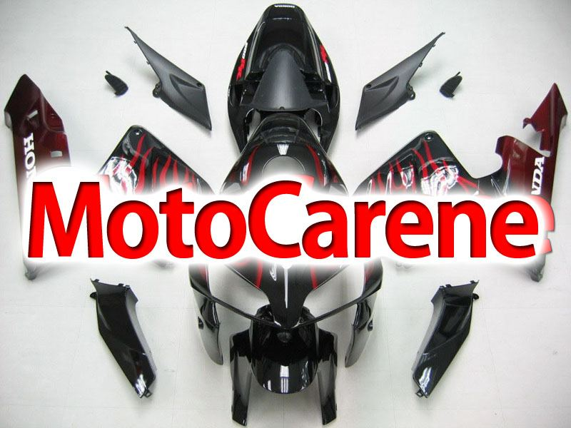 Honda CBR 600 RR 2005-2006 CARENA ABS ART 44 BLACK FIRE