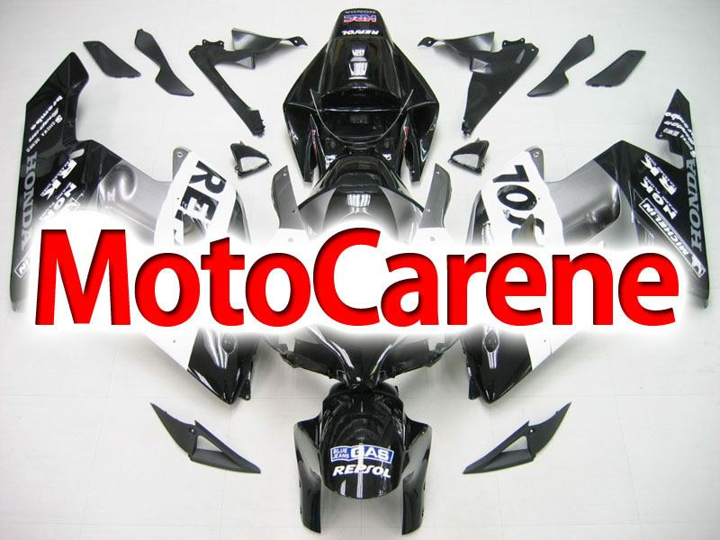 HONDA CBR 1000RR Year 04 05 Carena ABS Kit Bodywork Fairing Art 39 Repsol HRC Nera Grigio