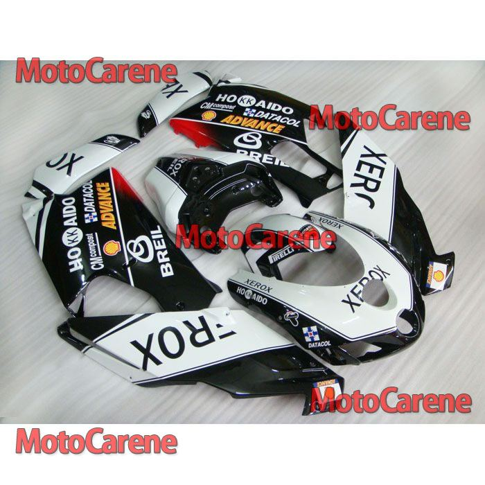 DUCATI Carena ABS 999 / 749 anno 2005-2006 Kit completo Fairing Nero Xerox Art 04