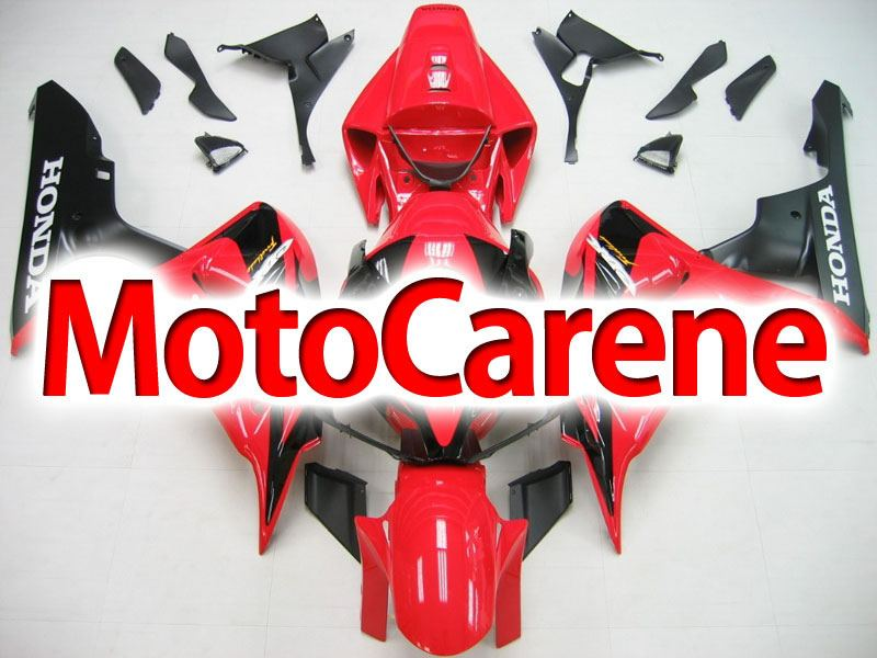 HONDA CBR 1000 RR Year 06 07 Carena ABS Kit Bodywork Fairing Art 02 Rosso Diablo