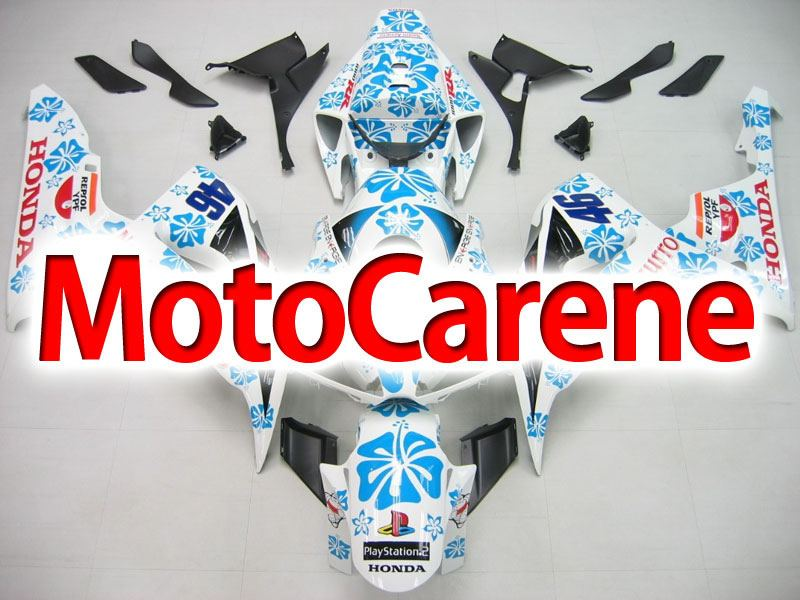 HONDA CBR 1000 RR Year 06 07 Carena ABS Kit Bodywork Fairing Art 16 Vale 46 Limited edition