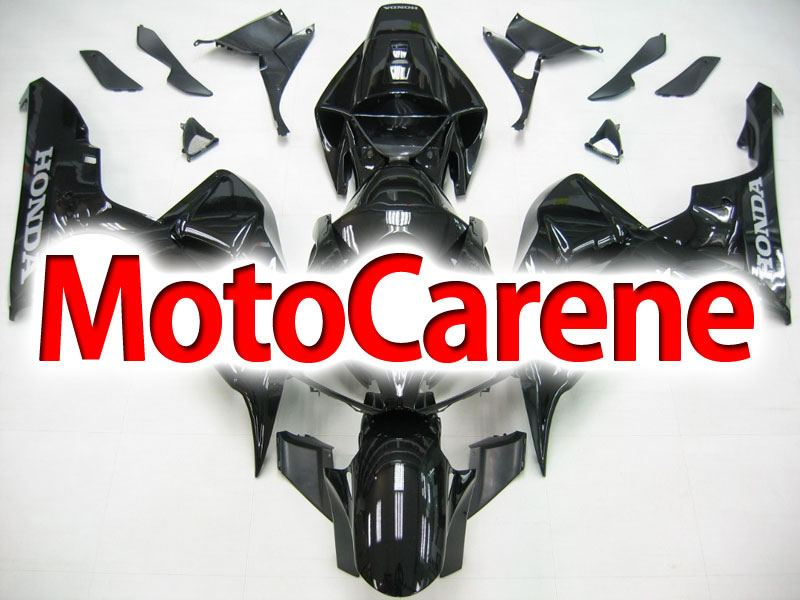 HONDA CBR 1000 RR Year 06 07 Carena ABS Kit Bodywork Fairing Art 38 Nero Lucido