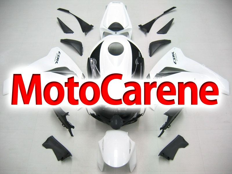 HONDA CBR 1000 RR Anno 08 11 Carena ABS Kit Bodywork Fairing Art 08 Bianco Nero