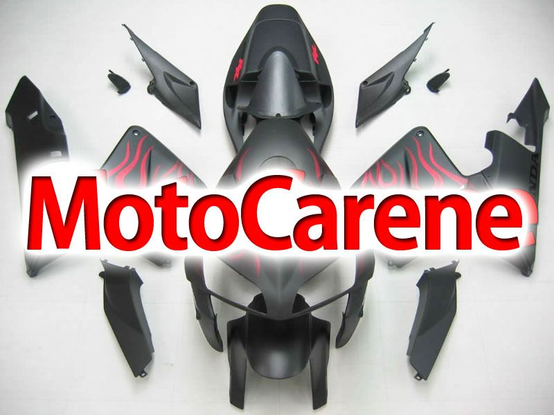 Honda CBR 600 RR 2005-2006 CARENA ABS ART 57 NERO OPACO FIRE