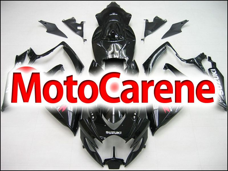 SUZUKI GSX 600 Anno 2006 2007 Carena ABS Kit Fairing Art 21 Nero Lucido Suzuki