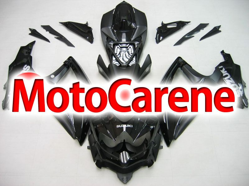 SUZUKI GSX 600 - GSX 750 Anno 2008 2010 Carena ABS Kit Fairing Art 12 Nero Totale