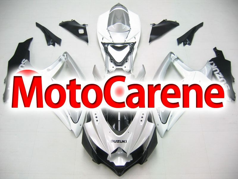 SUZUKI GSX 600 GSX 750 Anno 2008 2010 Carena ABS Art 34 White Grey