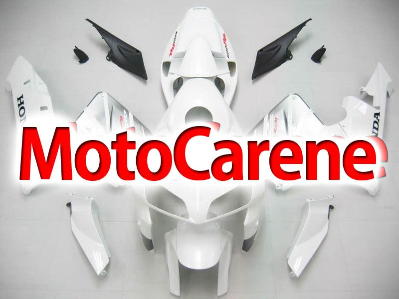 Honda CBR 600 RR 2005-2006 CARENA ABS ART 69 WHITE SILVER
