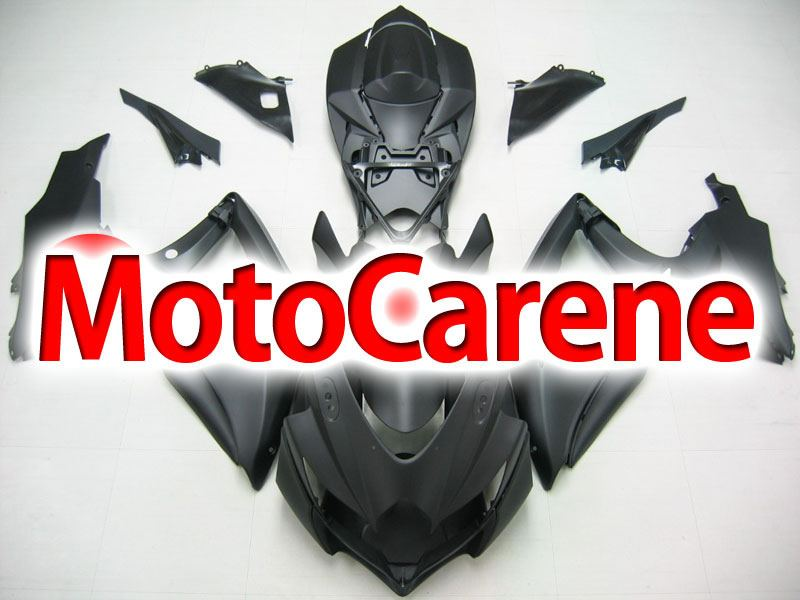 SUZUKI GSX 600 - 750 Anno 2008 2010 Carena ABS Kit Fairing Art 45 Nero Opaco totale