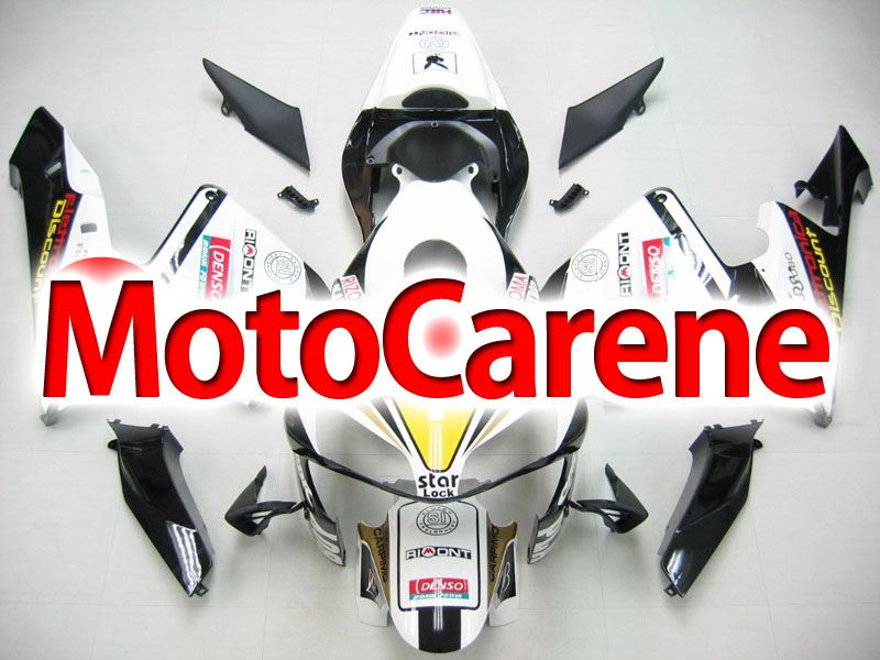 Honda CBR 600RR Fairing Kit Carena ABS Anno 2003 2004  ART. 31 Bianca Playboy Denso