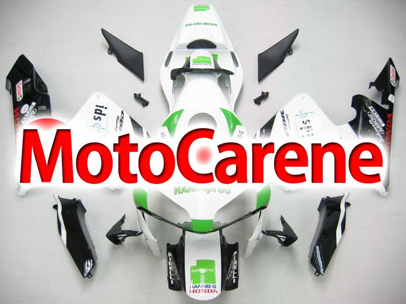 Honda CBR 600RR Fairing Kit Carena ABS Anno 03 04 Art. 48 Hannspree Pirelli