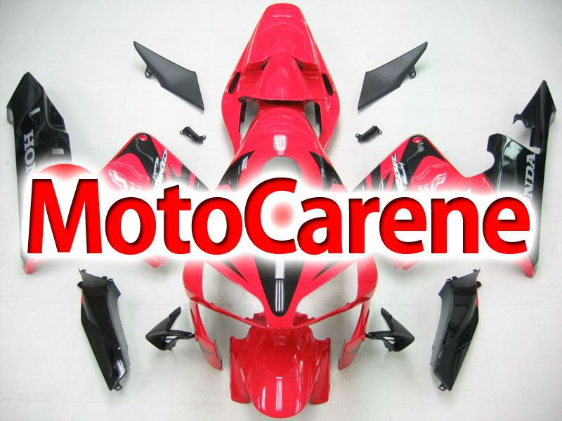 Honda CBR 600RR Fairing Kit Carena ABS Anno 03 04 Art. 72 Red Devil