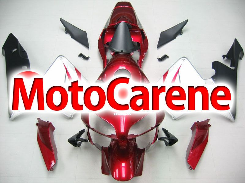 Honda CBR 600RR Fairing Kit Carena ABS Anno 03 04 Art. 73 Bordo Grigio Nero Lucido