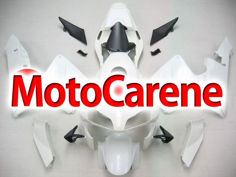 Honda CBR 600RR Fairing Kit Carena ABS Anno 03 04 Art. 78 Bianca base da verniciare