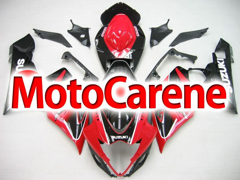 SUZUKI GSX 1000 Anno 2005 2006 Carena ABS Kit Fairing Art 05 Devil Rossa Nera