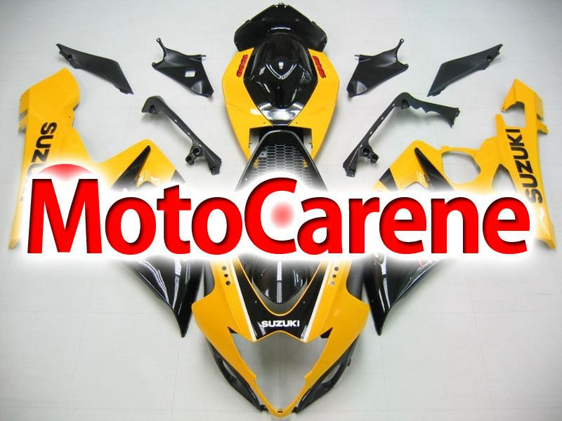 SUZUKI GSX 1000 Anno 2005 2006 Carena ABS Kit Fairing Art 07 Gialla Nera