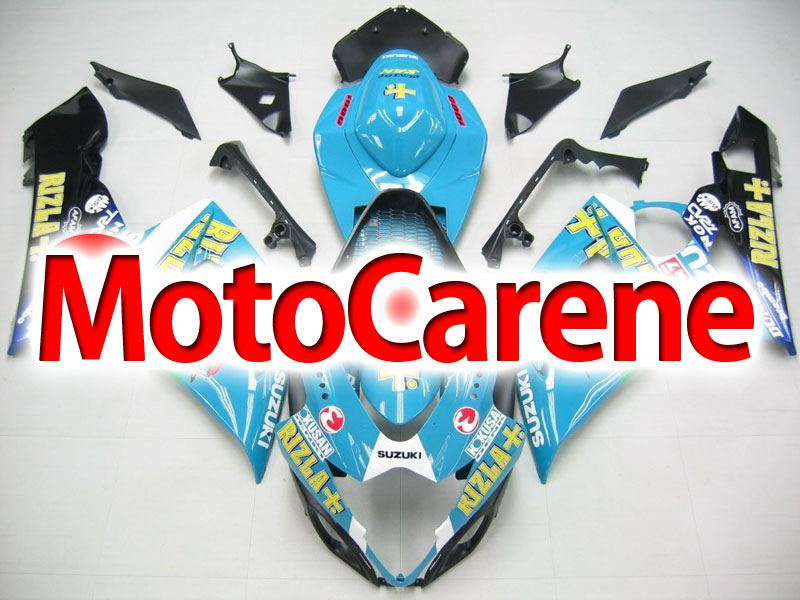 SUZUKI GSX 1000 Anno 2005 2006 Carena ABS Kit Fairing Art 12 Rizla celeste
