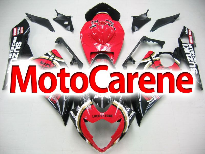 SUZUKI GSX 1000 Anno 2005 2006 Carena ABS Kit Fairing Art 32 Lucky strike Diablo