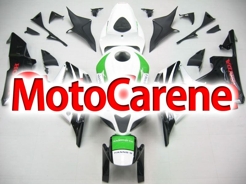 HONDA CBR 600RR Carena ABS Year 2007 2008 Fairing Art 24 Hannspree Bianca SBK