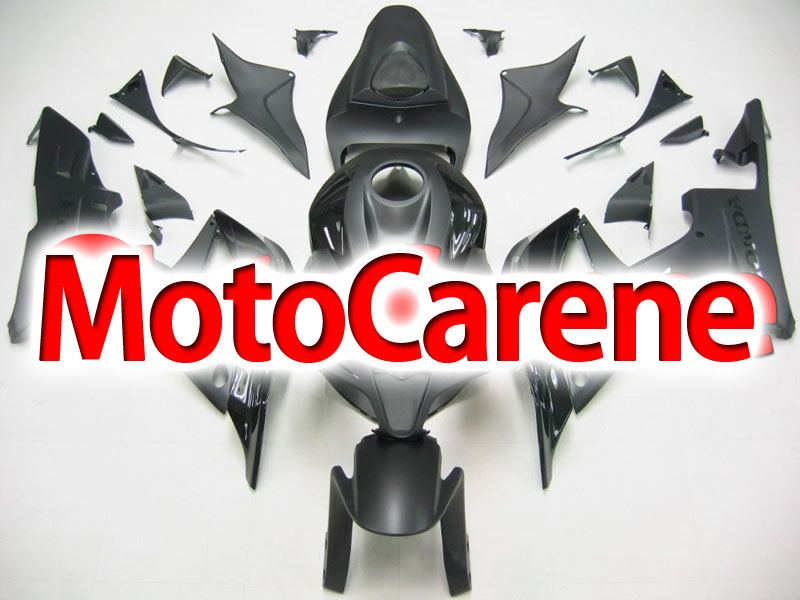 HONDA CBR 600RR Carena ABS Year 2007 2008 Fairing Art 32 Nero Totale Opaco