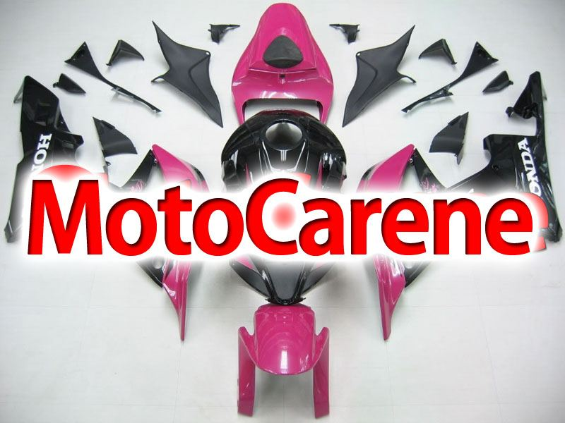 HONDA CBR 600RR Carena ABS Year 2007 2008 Fairing Art 37 Black purple