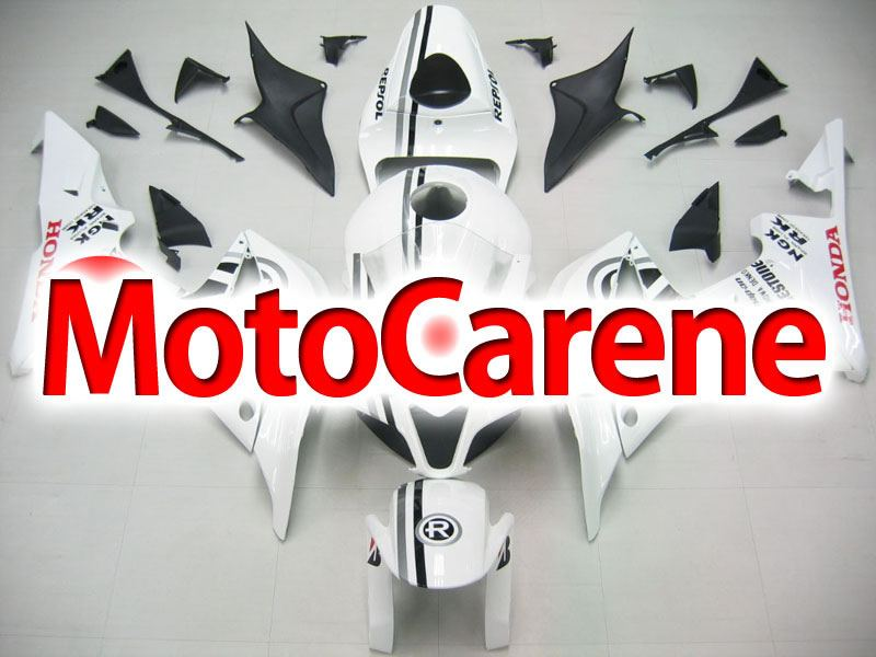 HONDA CBR 600RR Carena ABS Year 2007 2008 Fairing Art 45 Repsol Line Grey