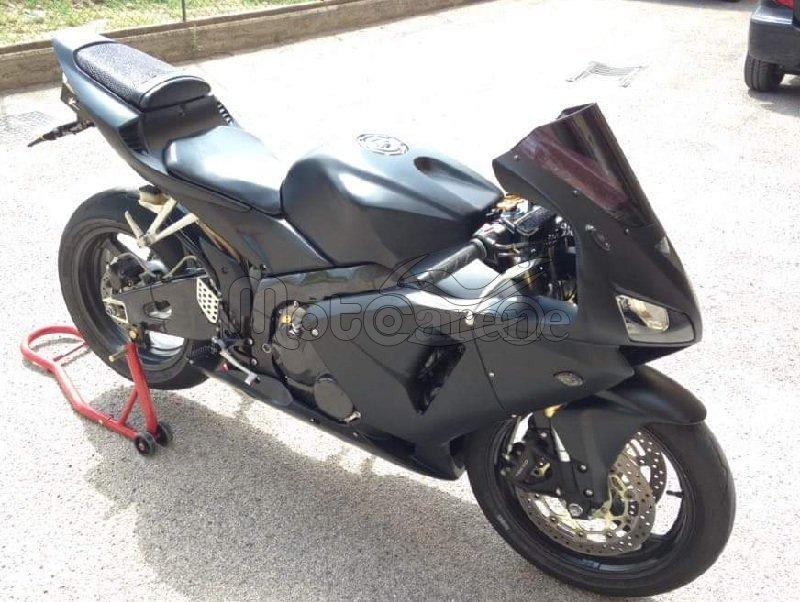 Claudio Fusco Di Caltanissetta Honda Cbr 600rr Full Black Matt